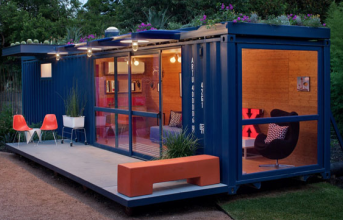 I Never Thought I Would Say This But… I Would LIVE In This Shipping Container. The Inside's Awesome.
