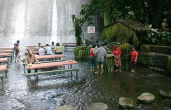 Screw Dining In America... I Want To Go Eat By This Waterfall, NOW!