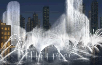 Think The Bellagio Fountains Are Cool? Well Just Wait Till You See What They Have In Dubai... It Puts Vegas To Shame.